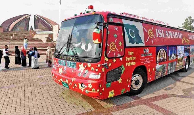 Islamabad Tour Bus