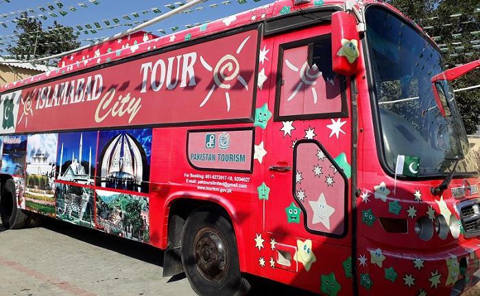 Islamabad City Tour Bus