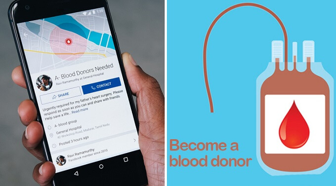 Facebook launches blood donation feature in Pakistan