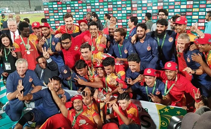 Islamabad United win PSL 2018