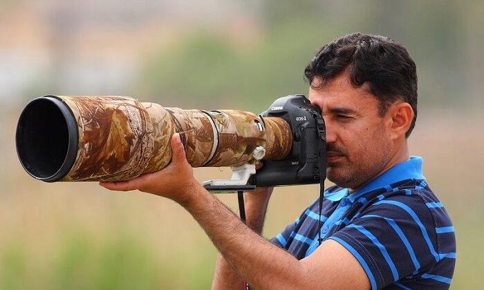 Pakistan's wildlife photography pioneer Zahoor Salmi