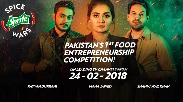 Sprite Spice Wars: Pakistani food startups are competing for a prize of Rs 5 Million